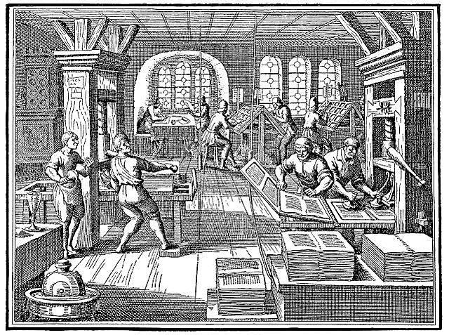 Imprenta en Nueva España