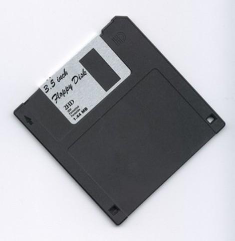 Floppy disk invented!!