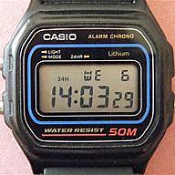 the first digital clock