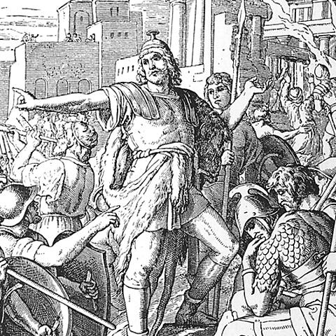 Greece: Maccabees retake Jerusalem and purify Temple