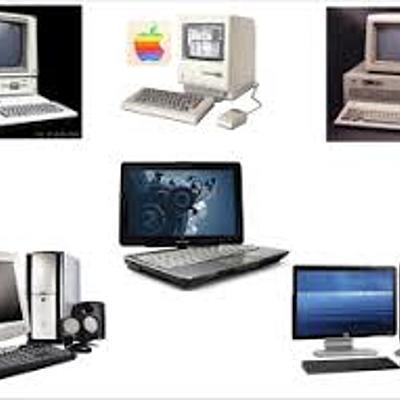Origen y generaciones de las computadoras timeline