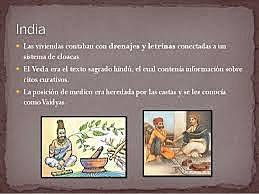 SALUD PÚBLICA - EDAD ANTIGUA - INDIA