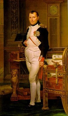 Napoleon brought in French Emperor to rule
