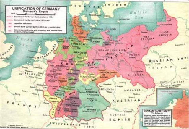Germany and Prussia alliance
