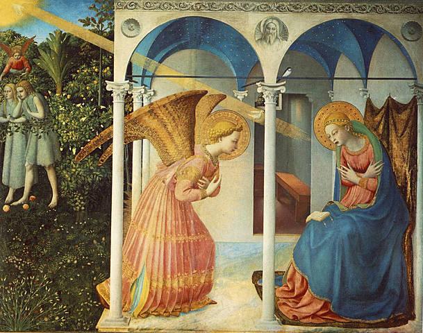 Anunciación, Fra Angelico