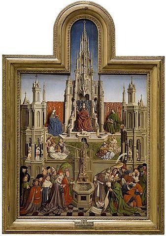 La fuente, Van Eyck