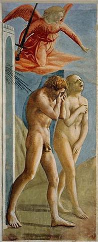 Adán y Eva expulsados del paraíso, Masaccio