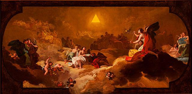 La Adoración del Nombre del Señor, Goya