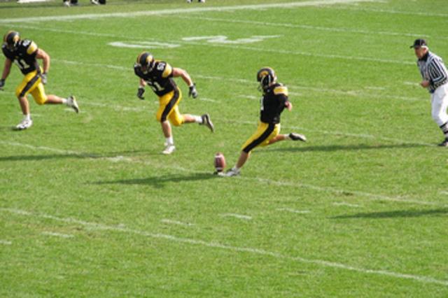 first iowa hawkeye football game