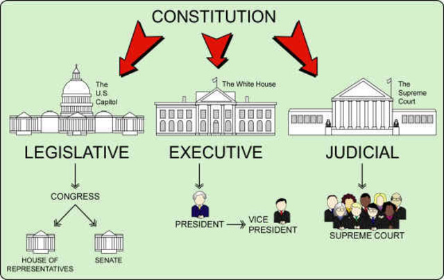 Civics: Constitutions at the federal and state level are in place to explain the laws of our country and role  of Government leaders in representing citizens of the U.S.