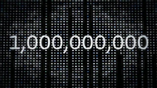 Plus d'un milliard de sites web