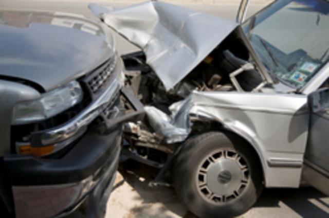 my first car wreck