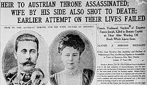 Asesinato de archiduque Francisco Fernando