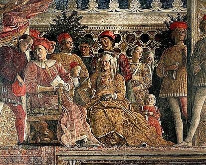 Cámara de los esposos. Andrea Mantegna. Quattrocento