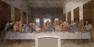 La Última Cena o Cenacolo. Leonardo da Vinci. Cinquecento.