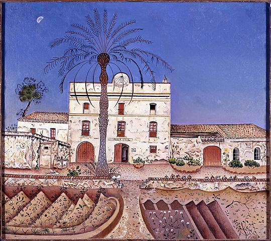La casa de la palmera, Miró