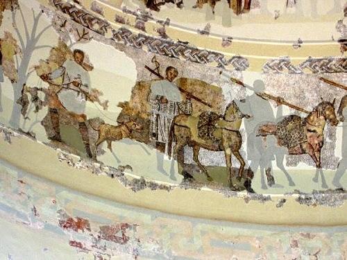 Mosaico Mausoleo de Centelles (Tarragona)