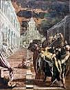 Traslación del cuerpo de San Marcos. Tintoretto. Pintura Veneciana.