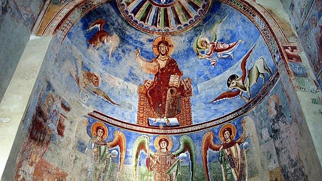 Pantocrátor de Sant'Angelo in Formis (Italia)