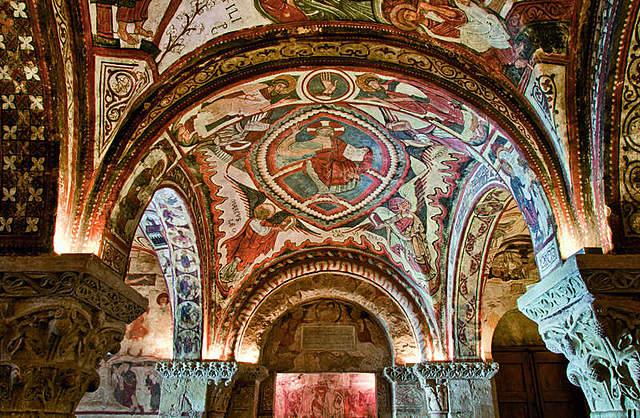 Frescos del Panteón de los Reyes de San Isidoro (León)
