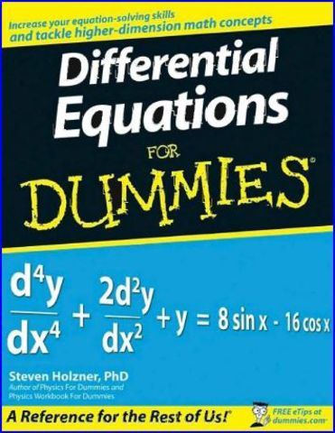 Differential Equation Review
