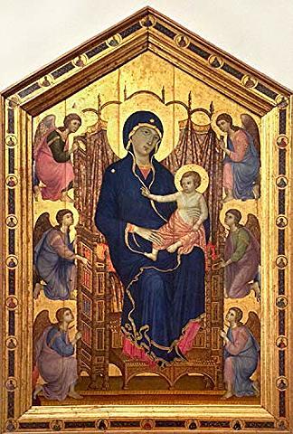 Madonna Rucellai (Duccio Di Buoninsegna, Florencia)