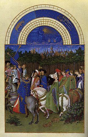 Muy ricas horas del Duque de Berry (Hermanos Limburg, Chantilly)