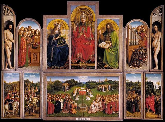 Retablo del Cordero Místico (Jan Van Eyck, Gante)