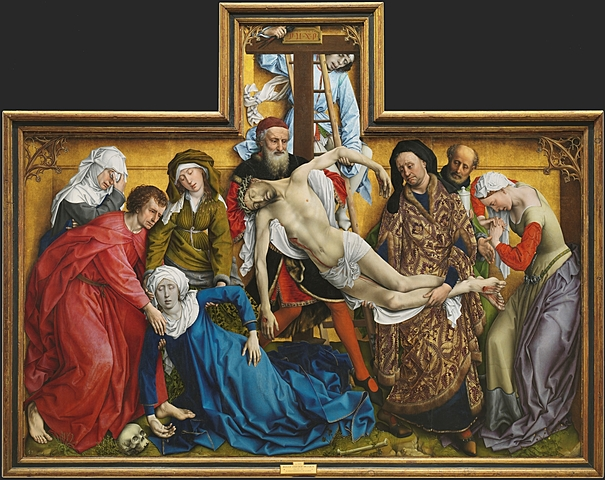 El Descendimiento (R. Van der Weyden, Madrid)