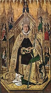 Santo Domingo de Silos (Bartolomé Bermejo, Madrid)