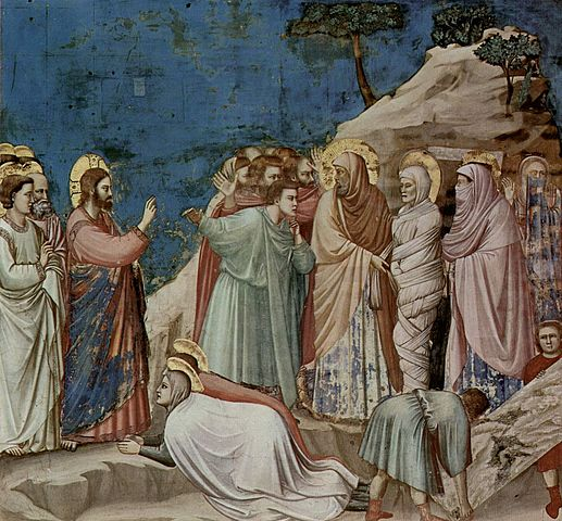 La Resurrección de Lázaro (Giotto, Padua)