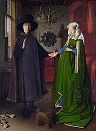 El Matrimonio Arnolfini (Jan van Eyck, Londres)