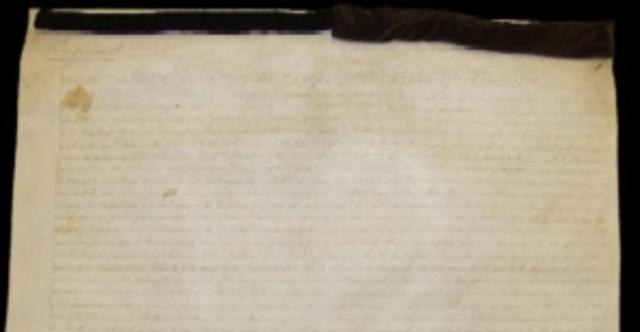 Confederate Constitution Signed