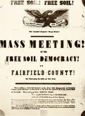 Creation of the Free Soil Party