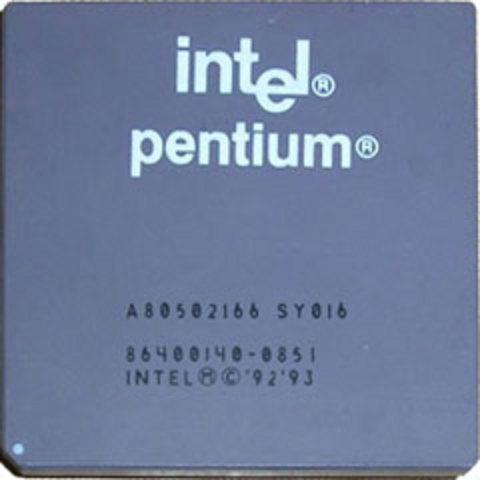 Intel lance le Pentium