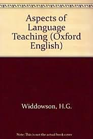 Widdowson views language learning not merely as acquiring the knowledge of the rules of grammar, but also as acquiring the ability to use language to communicate.