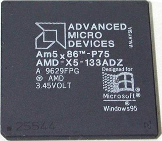 AMD lance le 5x86