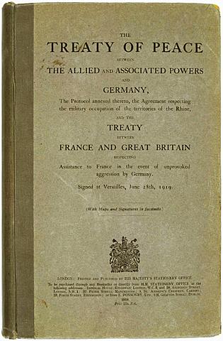 Avslutningen av 1. verdenskrig og fredsavtalen (1)
