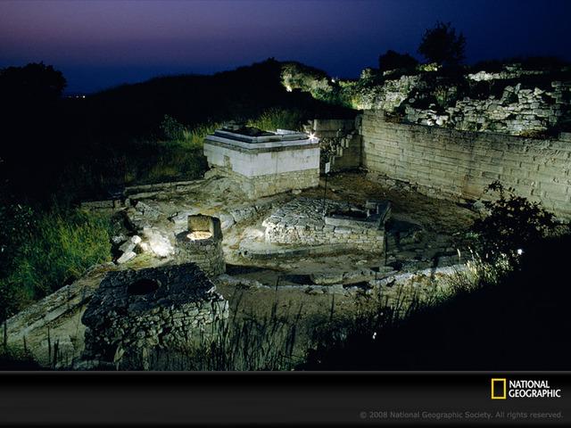Troy in Ruins
