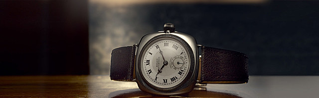 Rolex creates the first waterproof watch