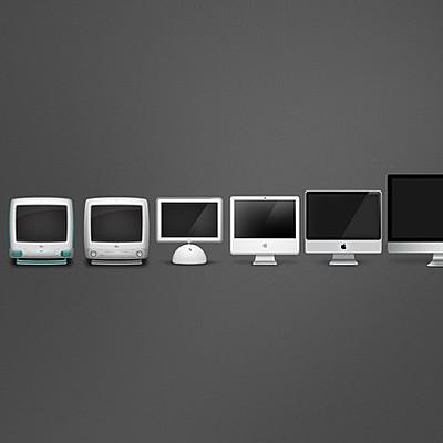Evolución de los computadores timeline