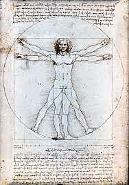 El Hombre de Vitrubio (Leonardo da Vinci, Venecia)