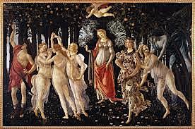 La Primavera (Sandro Botticelli, Florencia)