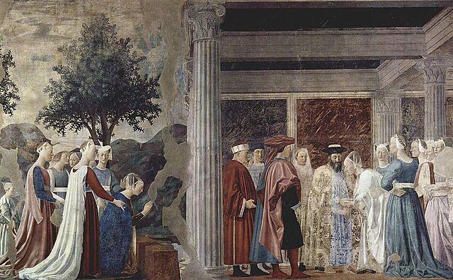 Frescos de la Leyenda de la Vera Cruz (P. della Francesca, Arezzo)
