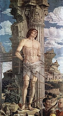San Sebastián (Andrea Mantegna, París)