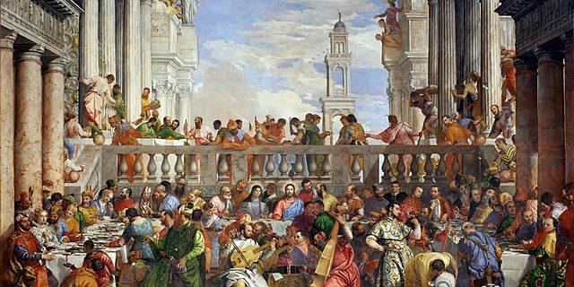 Las Bodas de Caná (Paolo Veronese, París)