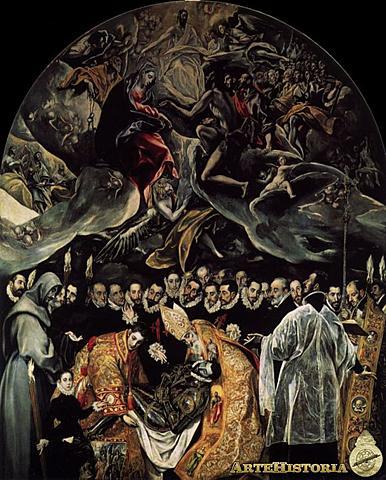 El Entierro del Señor de Orgaz (El Greco, Toledo )