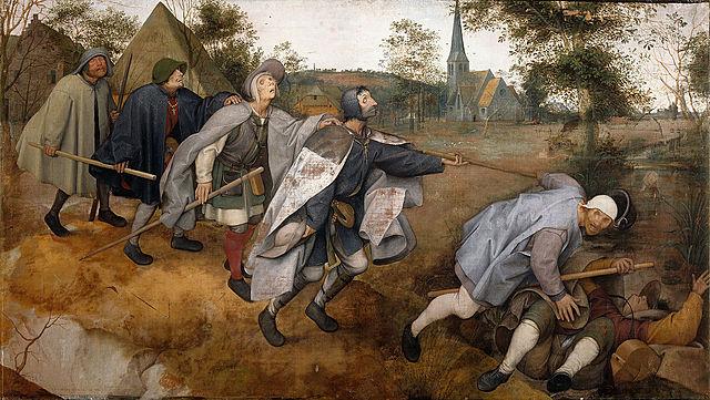 La Parábola de los Ciegos (Brueghel, Nápoles)