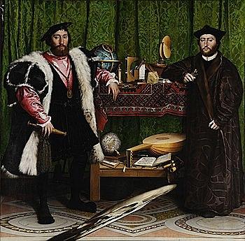 Los Embajadores (Hans Holbein, Londres)