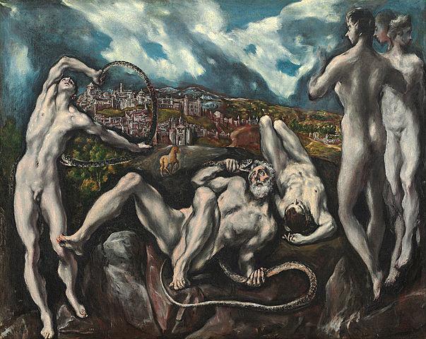 Laocoonte y sus Hijos (El Greco, Washington)